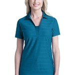 TT4 Ladies Horizontal Texture Polo