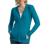 TT4 Ladies Modern Stretch Cotton Full Zip Jacket