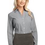 TT4 Ladies Plaid Pattern Easy Care Shirt